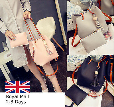 New Style Ladies Women Leather Tote Bag Shoulder Crossbody Handbag