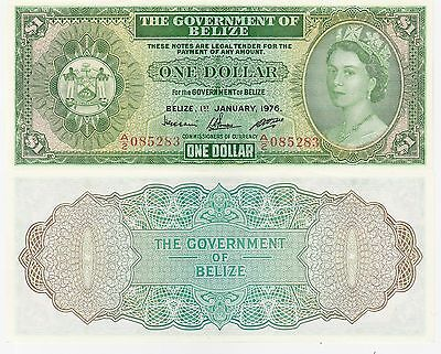 Belize-Government 1 Dollar Banknote 1.1.1976 Uncirculated Condit, Cat#33-C-5283
