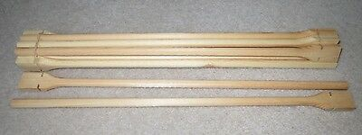 """10 x 15"""" TWIST ON WOOD / WOODEN PERCH / PERCHES 3/8"""" - FITS CANARY CAGE FRONTS"""