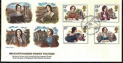 Great Britain First Day Cover 1980 Victotian Novelists