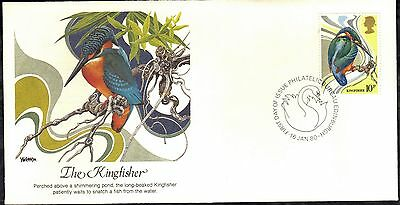 Great Britain 4 First Day Covers 1980 Birds