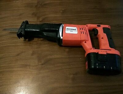 Silverline 24v reciprocating cordless saw