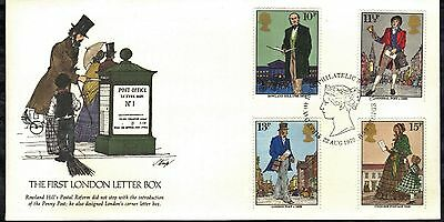 Great Britain First Day Cover 1979 Sir Rowland Hill