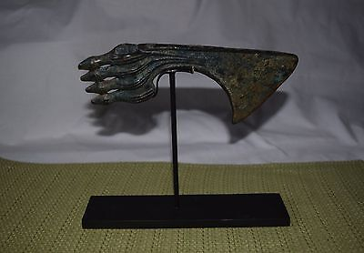 Antique Bronze Luristan persian axe head