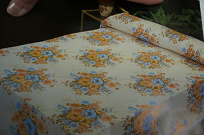 Vintage Bed Spread Made in Spain Queen Size Mid Century Vintage Stock NWT
