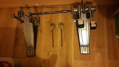 Pearl Double Bass Drum Pedal & Protection Racket Case