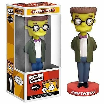 Funko The Simpsons SMITHERS Car Bobble Head Doll Wacky Wobbler Collectible