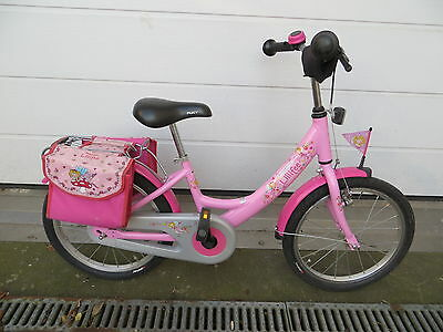 puky prinzessin lillifee fahrrad kinderfahrrad 18 zoll. Black Bedroom Furniture Sets. Home Design Ideas