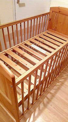 Solid Wood pine Cot Bed