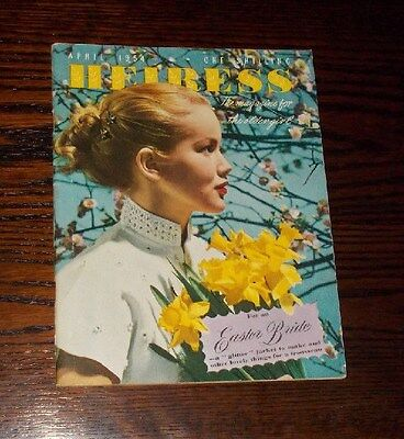 Magazine  Heiress  (Incorporating Girls Own Paper)  April  1954