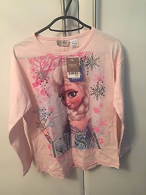 Girls Next Frozen Top - New With Tags Age 10