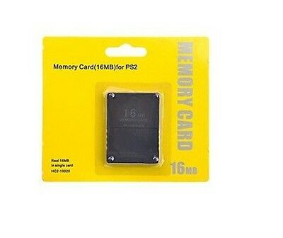 New Official Sony 16Mb  Magic Gate Memory Card for PS2, Playstation 2, Slim