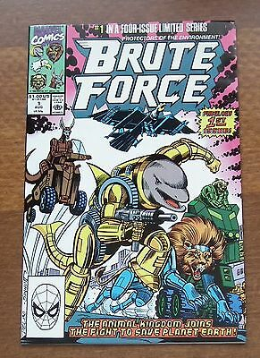 Brute Force, 1990, #1,  9.2 to 9.6 , Marvel Comics, Collector's Issue