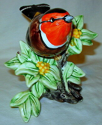 Rare Vintage Stangl Art Pottery #3922 European Goldfinch Figurine