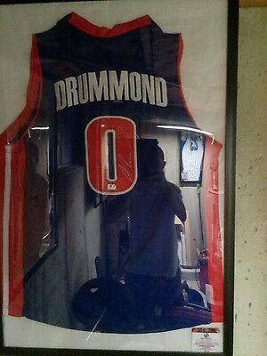 andre drummond signed jersey