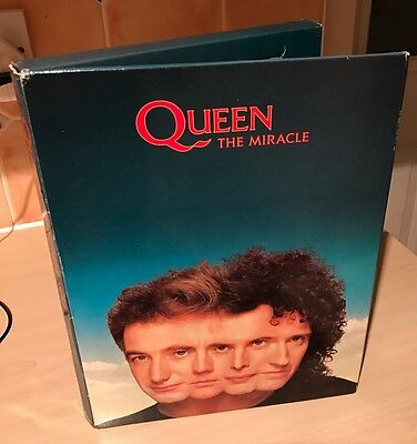 Queen - The Miracle Rare Complete UK Promo Box Set. 1989