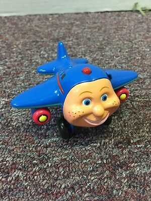 PBS Kids Jay Jay The Jet Plane Toy Figurine With Sounds