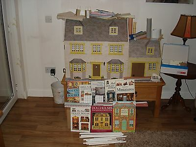 April Cottage Dolls House With Barn