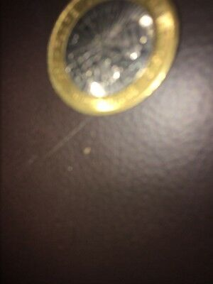 RARE £2 TWO POUND COIN - 2010 FLORANCE  nightingale