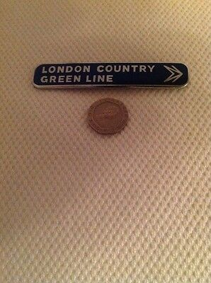 GREENLINE COACHES(London Country) drivers lapel badge