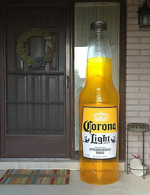 CORONA EXTRA NEW BEER BOTTLE 6ft TALL INFLATABLE BLOW UP SIGN