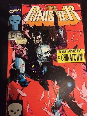 The Punisher - Vol 2 #51 - Aug 1991 - Nm -