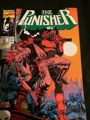 The Punisher - Vol 2 #47 - Apr 1991 - Nm -