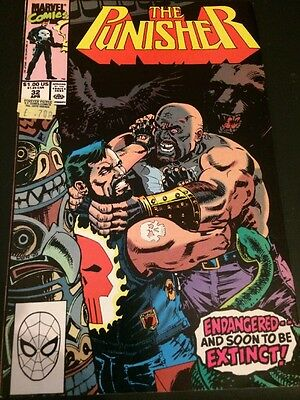 The Punisher - Vol 2 #32 - Apr 1990 - Nm -