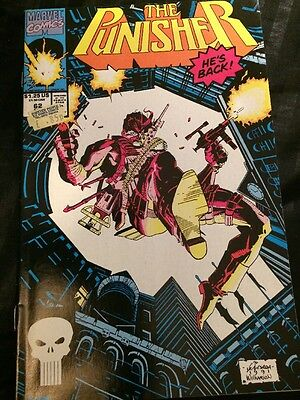 The Punisher - Vol 2 #62 - Apr 1992 - Nm -