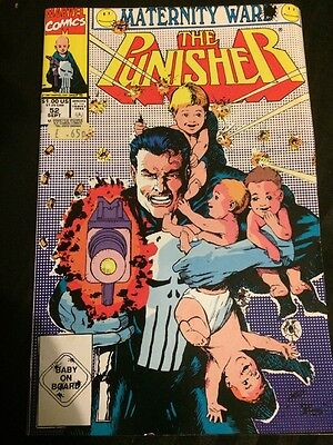 The Punisher - Vol 2 #52 - Aug 1991 - Vf -