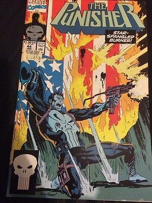 The Punisher - Vol 2 #44 - Jan 1991 - Nm -