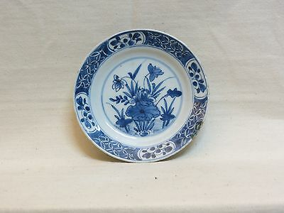 Chinese Porcelain Plate With Kang Shi Blue And White Decoration - 18Th Century