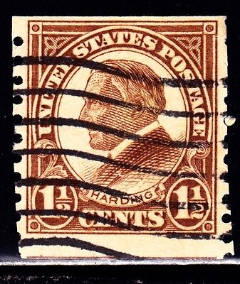 Very Nice US Single Coil Stamp Scott#598 (used)