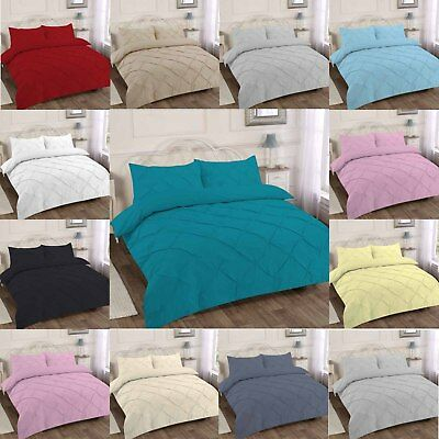 Luxury Alford Duvet Cover Bed Set With Pillow Cases Single Double King Superking