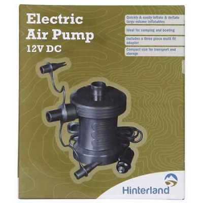 NEW Hinterland Electric Air Pump 12V DC