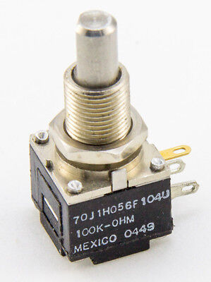 Clarostat 100K OHM MODPOT Linear Taper Potentiometer 1W 1 Watt