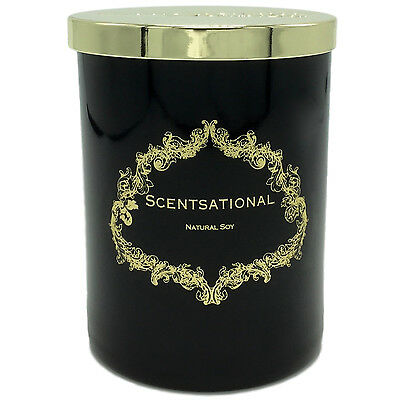 Scentsational Tobacco Vanilla Scented Soy Candle Hand Poured in the USA