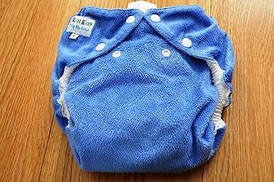 2 Easy Real Reusable soft cloth Nappies with inner pads - size L