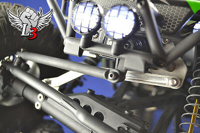 Axial Wraith Chassis Mounted Servo Kit W/ Panhard * Rc Rock Crawler Parts Wraith