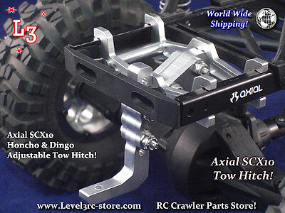 Axial Scx10 Adjustable Tow Hitch Rc Crawler Scale Truck Parts