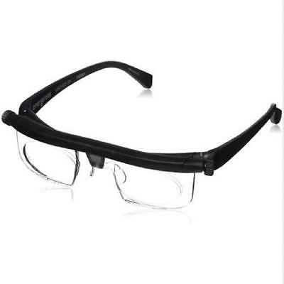 Hot Adjustable Dial Eye Glasses Vision Reader Glasses Care Includes Free Case