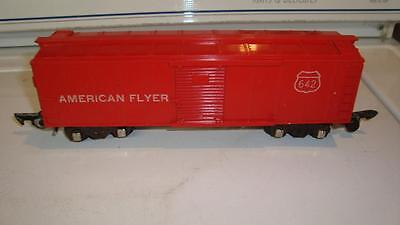 American Flyer 642 Box Car Very Nice Link Couplers