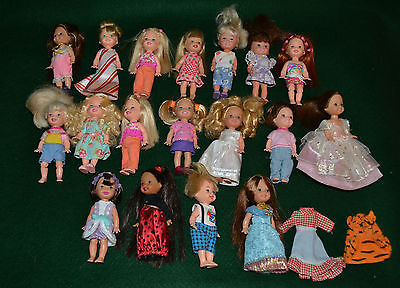 Lot of 18 Kelly Club Friends/Mattel/Barbie sister/Deidre, Chelsie, Kelly, Tommy