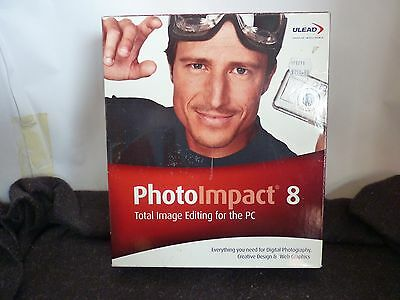 Ulead Photoimpact 8 Total Imaging Editing For The Pc New