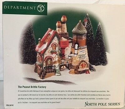 Dept 56 The Peanut Brittle Factory 56701 North Pole Series