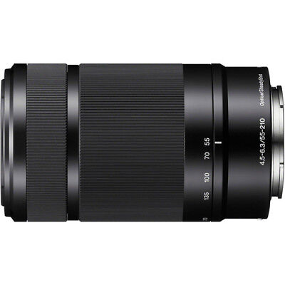 Sony E 55-210mm f/4.5-6.3 OSS E-Mount Camera Lens (Black)