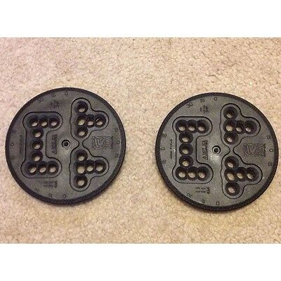 Flow Snowboard 3 & 4 Hole Unidisc Binding Mounting Plates Disc's Disk's