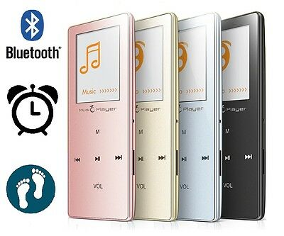 8GB Bluetooth MP3 MP4 Music Video Player FM Pedometer Voice & Radio Recorder