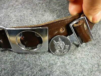 Vintage Cub Belt Boy Scouts of Canada Official Cub Belt + Buckle
