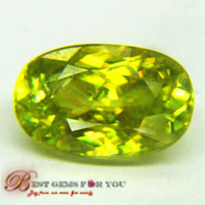 2.32Ct Awesome Yellow Sphene Multi 5A Oval Nr